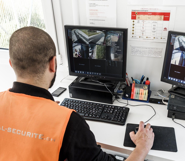 chantier surveillance sécurité