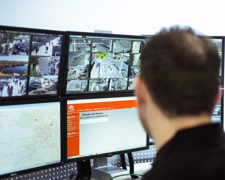 gestion à distance centre alarme sécurité