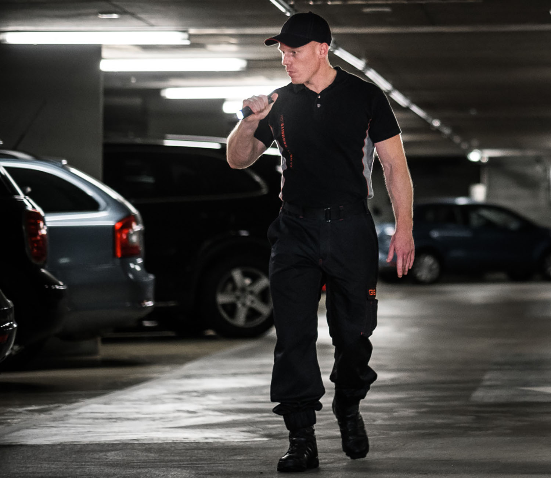 sécurité parking surveillance
